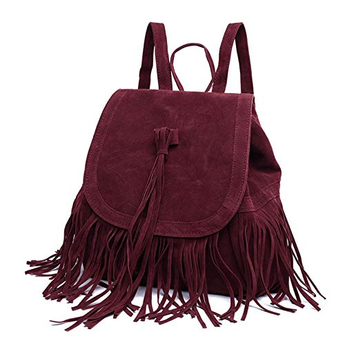 Backpacks - Women Vintage Tassel Backpack Bookbag Travel for sale  Delivered anywhere in USA