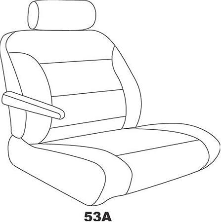 Tan Elegant E T7916 Custom Made Bucket Seat Covers Premier Tweed Fabric