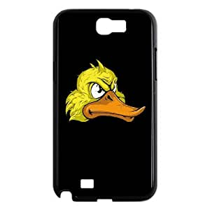 Samsung Galaxy Note 2 N7100 Phone Case, With Cartoon Ducks Image On The Back - Colourful Store Designed