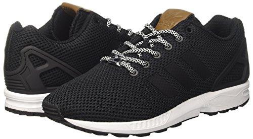 Homme footwear core Black Noir core Zx Flux Basses Adidas White Black Baskets qIvY0X