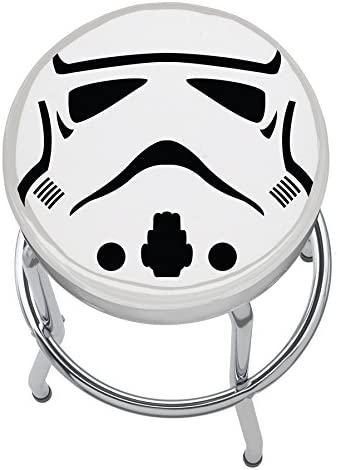 Plasticolor 004780R01 Star Wars Disney Stormtrooper Garage Stool