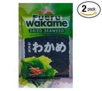 Wel-Pac - Fueru Wakame (Dried Seaweed) Net Wt. 2 Oz. (Pack of 2) ()