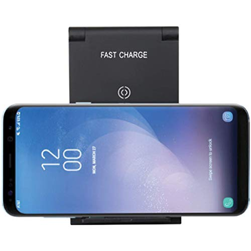 (AckfulElectronics Wireless Phone Charger 10W Fast Wireless Charging Stand Qi-Dual)