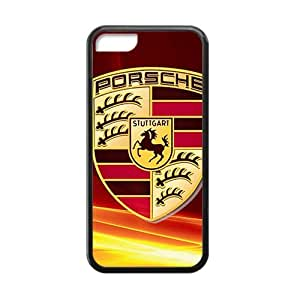 MEIMEISFBFDGR-Store Famous car logo Porsche Phone case for iphone 4/4sMEIMEI