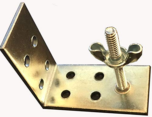(NCMORIN FREE SHIPPING Qty. (4) Roman Shade Mounting Installation L-Brackets)