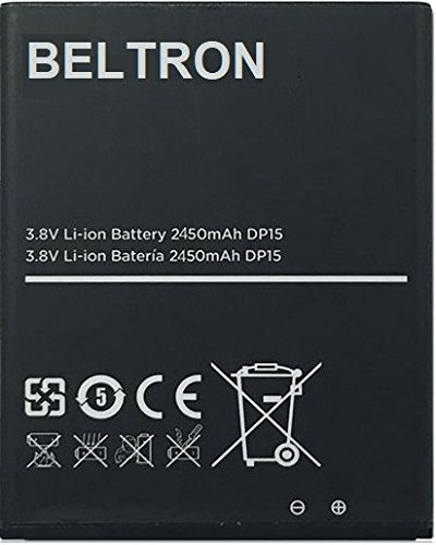 New 2450 mAh Replacement Battery for R850 Mobile Hotspot (Boost Mobile, Sprint, Virgin Mobile) by BELTRON