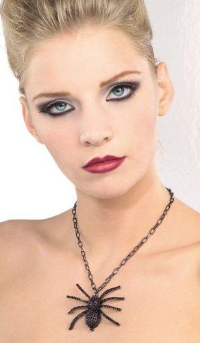 Black Spider Necklace