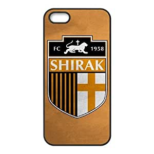 Sports fc shirak iPhone 4 4s Cell Phone Case Black 91INA91176653