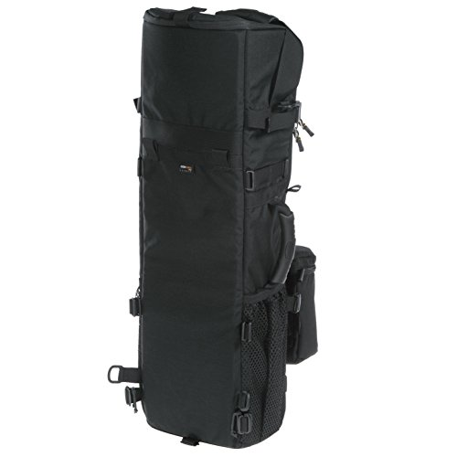 Kinesis L611 Super Tall Compact Long Lens Case 600 (w/ body pouch & ahoulder strap)