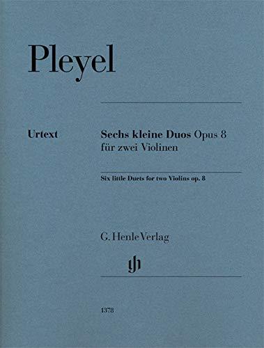 (Sechs kleine Duos op. 8 für zwei Violinen )
