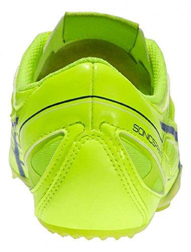 asics SONICSPRINT Leichtathletik Schuhe Sprint-Spikes Herren, flash yellow/deep blue… EU 39.5 (US6.5)(UK5.5)