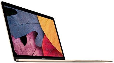 Apple Macbook Retina Display Laptop (12 Inch Full-HD LED Backlit IPS Display, Intel Core M-5Y31 1.1GHz up to 2.4GHz, 8GB RAM, 256GB SSD, Wi-Fi, Bluetooth 4.0) Gold (Renewed) 41I7rD17SPL