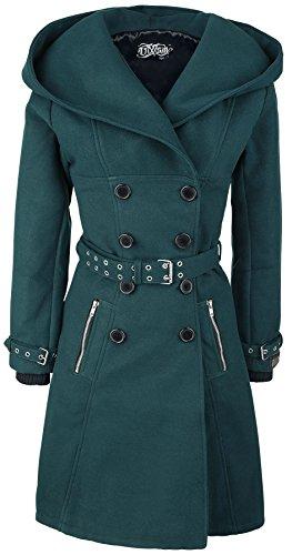 Coat P Vixxsin Decay Manteau noir Femme 4151Xw
