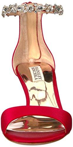 Badgley Mischka Womens Sandalo Con Tacco Geranio Rosso