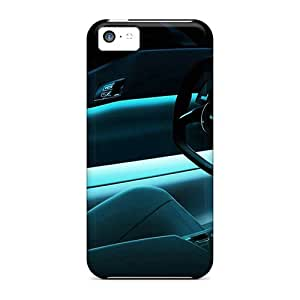TerryMacPhail Scratch-free Phone Cases For Iphone 5c- Retail Packaging - Tron