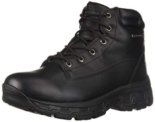 Picture of Skechers Men's Morson- SINATRO Hiking Boot, Black, 8.5 Wide US