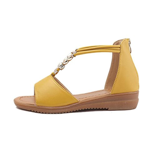 Summer Bovake Flat Sandals Flate Rome Women Kvinners Bovake Sommer Sandaler Rome 6xdBqO4wd
