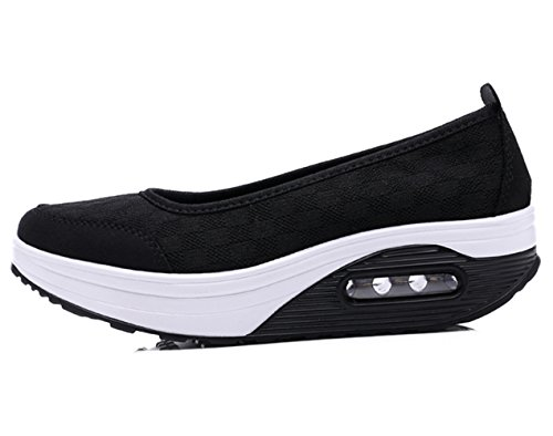 Women S Cushioned Sole Slip On Tennis Shoes
