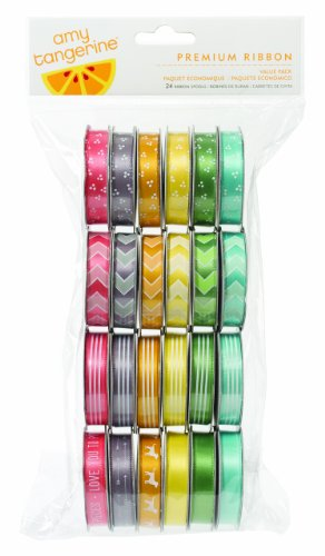 American Crafts Amy Tangerine Yes Please Premium (American Crafts Premium Ribbon)