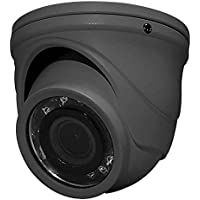 Outdoor TVI Mini IR Turret Camera in Gray