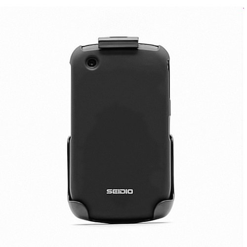 Seidio BlackBerry Curve 8520, 8530, 9300, and 9330 SURFACE Case and Holster Combo - Combo Pack - Retail Packaging - Black