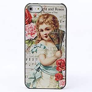 JOEFlowers and Baby Protective Hard Back Case for iPhone 5/5S