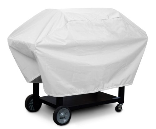 KoverRoos Weathermax 13054 X-Large Barbecue Cover, 29-Inch Diameter by 66-Inch Width by 45-Inch Height, White