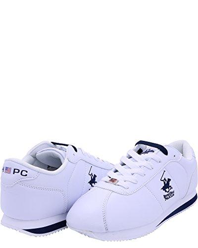 ... Beverly Hills Polo Club Menns Frihet To Sneaker Hvit / Marine ...