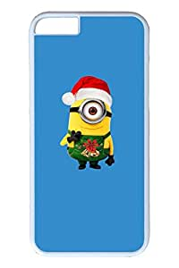 iPhone 6 Case, iPhone 6 Case - New Release Hard Case Bumper for iPhone 6 Minion Christmas 2 Scratch Proof White Hard Back Case for iPhone 6 4.7 Inches