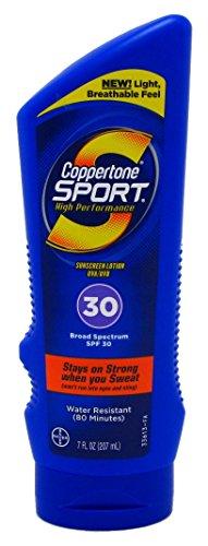 Coppertone Ultra Sweat - Coppertone Sport Lotion SPF 30, 8 oz