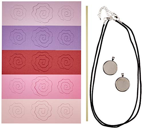 (Quilled Creations Q280 Romantic Rose Necklace Quilling Kit)