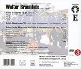 Braunfels: Piano Concerto, Ariels Gesang, Schottische Phantasie for Viola & Orchestra
