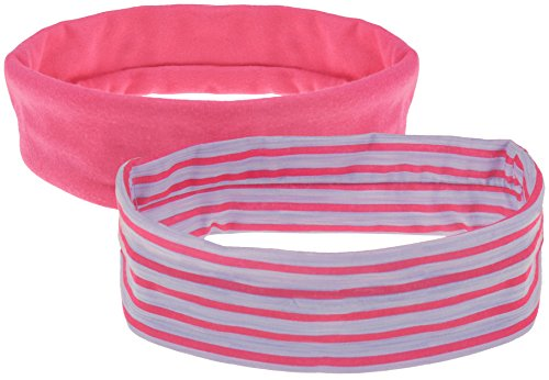 Capelli New York Ladies 2 Pack Jersey Headwraps Pink One - Jersey Mall York New
