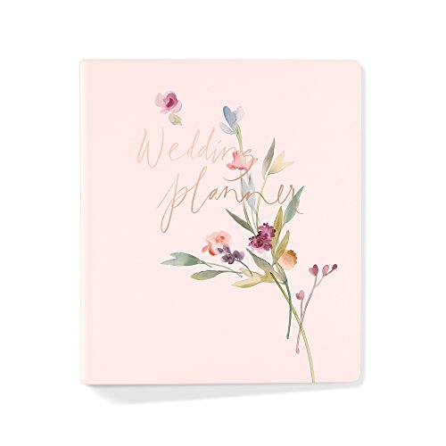 FRINGE STUDIO Garland Wedding Planner, Planner has 152 pages and includes a storage pocket. (157002)