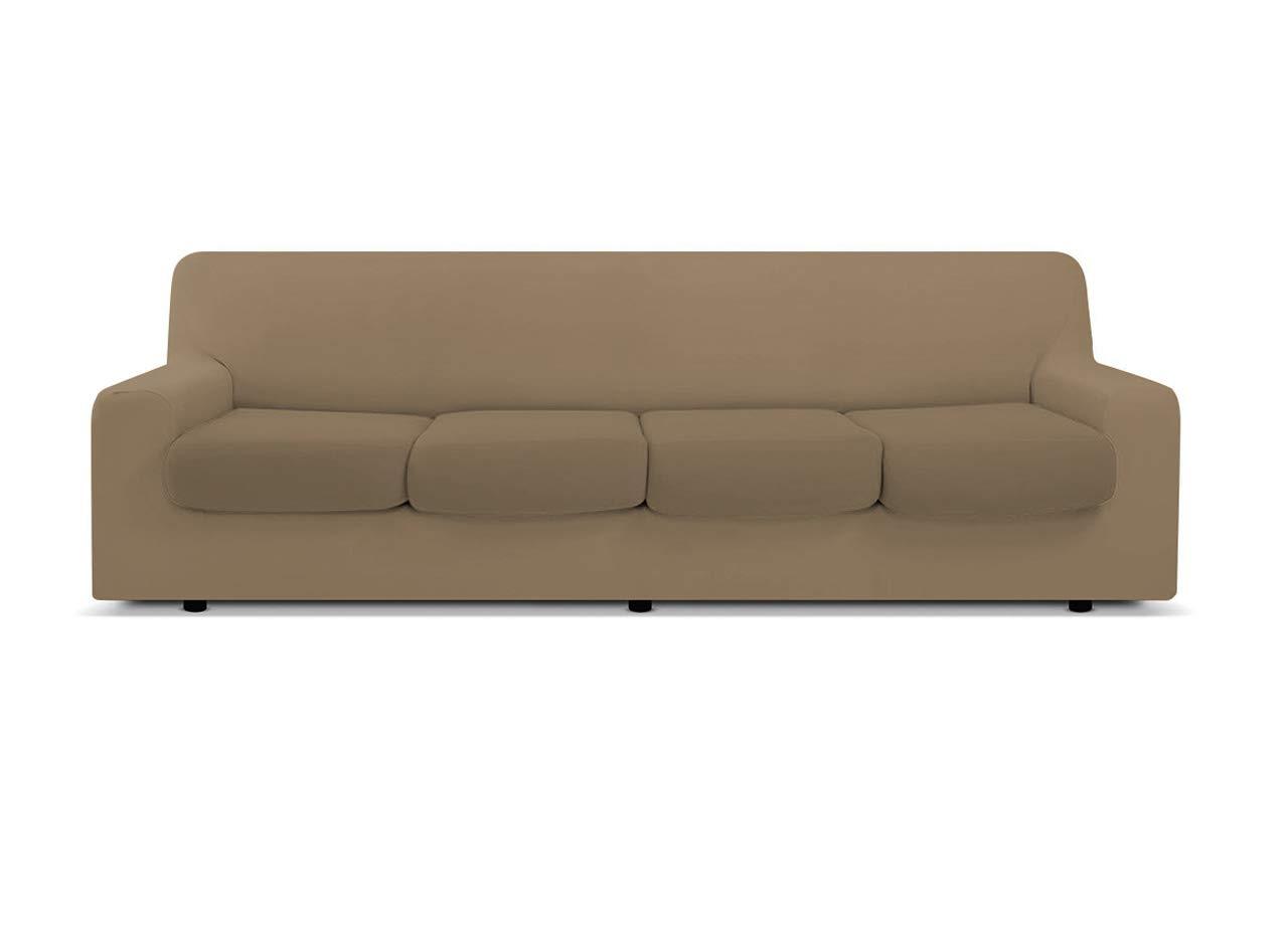 Genius, 1019, funda protectora de sofá de un solo color, 4 ...