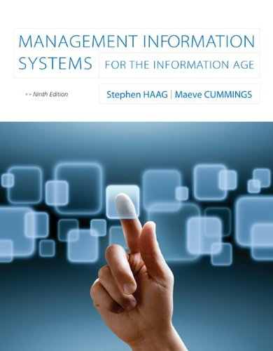 Management Information Systems for the Information Age cover