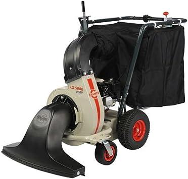 CRAMER LS5000H-Aspirador de hojas muertas modelo modelo autotracté hidrostática-Motor para Honda GX 160-160-cc, anchura de trabajo: 80-Funda L 240 cm: Amazon.es: Bricolaje y herramientas