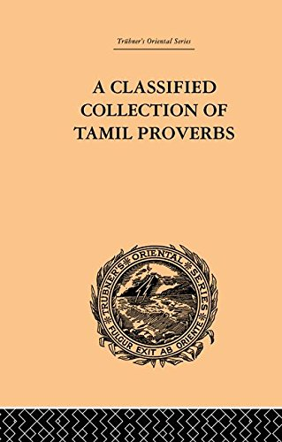 (A Classical Collection of Tamil Proverbs)