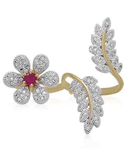 GADGET WEAR 18K No-Metal-Type Ring for Girl's