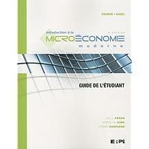 Intro. micro mod. 4e guide et. parkin et bade