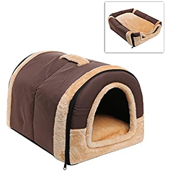 Dog Indoor Tent Amp Doghouse Kennel Tent With Pad Igloo