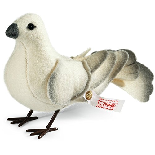 Steiff Dove, Wool white, 3.5