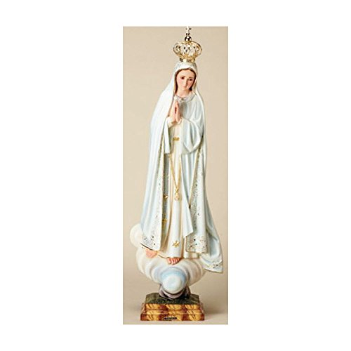 Our Lady of Fatima, Pilgrim Virgin, Hand Painted 36