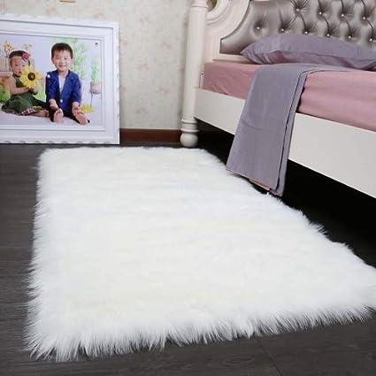 fc2f314f29e HLZDH Faux Fur Rug Soft Fluffy Rug