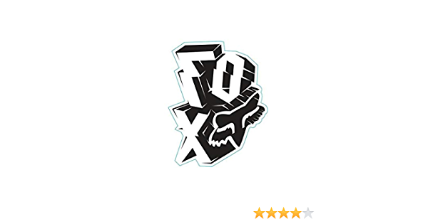 Mens Outta Whack Sticker Fox