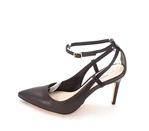 Cole Haan Womens 14A4023 Pointed Toe Ankle Strap Classic Pumps Black wUKCwdEHi8