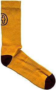 BONPAIR - Calcetines para hombre modelo deportivo/streetwear Gold Crew