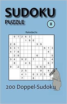 Book Sudoku Puzzle 8: 200 Doppel-Sudoku