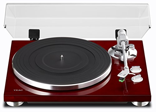 Price comparison product image TEAC TN-300 Analog Turntable with Built-in Phono Pre-amplifier & USB Digital Output (Cherry)