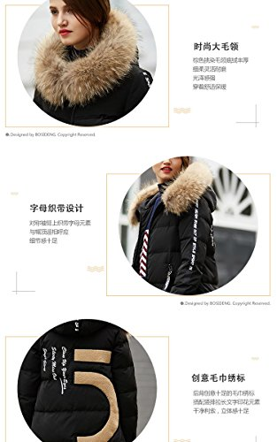 Generic Bosideng_street_personalized_letter_ commuter simple _tops_ down jacket Women longer_section_1601540 by Generic (Image #7)